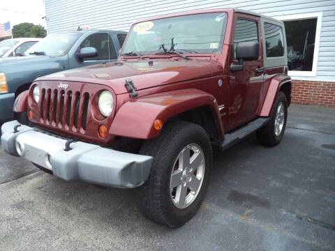 2008 Jeep Wrangler for sale at H and H Truck Center in Newport News VA