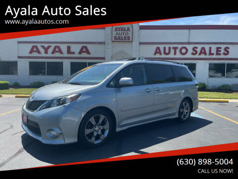 2011 Toyota Sienna for sale at Ayala Auto Sales in Aurora IL