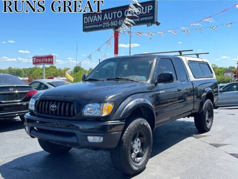 2002 Toyota Tacoma for sale at Divan Auto Group in Feasterville PA