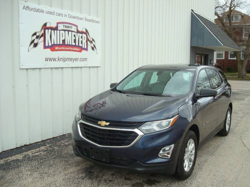 2018 Chevrolet Equinox for sale at Team Knipmeyer in Beardstown IL