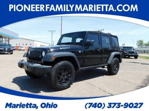 2016 Jeep Wrangler Unlimited for sale at Pioneer Family preowned autos in Williamstown WV