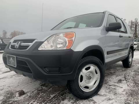 2002 Honda CR-V for sale at LUXURY IMPORTS in Hermantown MN