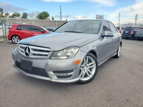 2013 Mercedes-Benz C-Class for sale at LA Motors LLC in Denver CO