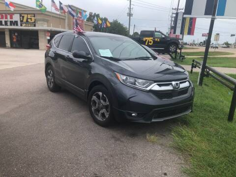 2017 Honda CR-V for sale at FREDY CARS FOR LESS in Houston TX