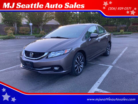 2015 Honda Civic for sale at MJ Seattle Auto Sales in Kent WA