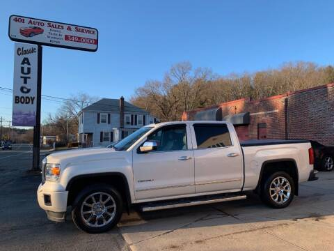 2014 GMC Sierra 1500 for sale at 401 Auto Sales & Service in Smithfield RI