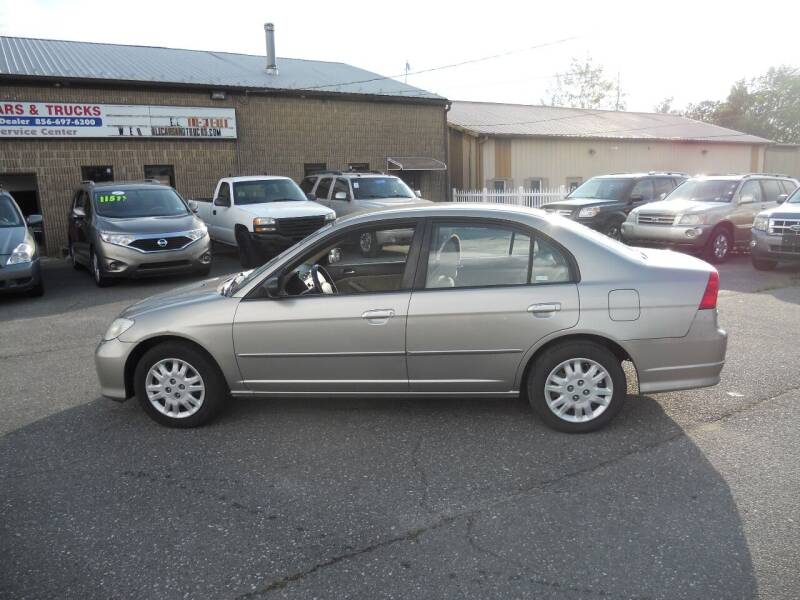 2005 Honda Civic for sale at All Cars and Trucks in Buena NJ