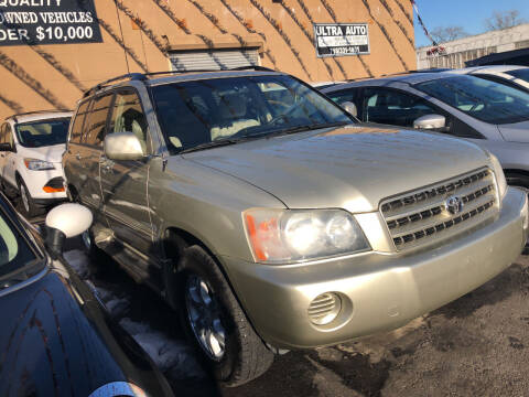 2003 Toyota Highlander for sale at Ultra Auto Enterprise in Brooklyn NY