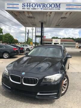 2014 BMW 5 Series for sale at Showroom Auto Sales of Charleston in Charleston SC