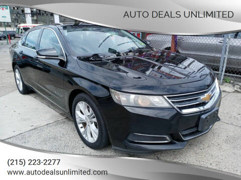 2014 Chevrolet Impala for sale at AUTO DEALS UNLIMITED in Philadelphia PA