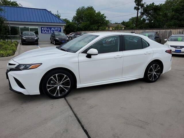 2019 Toyota Camry for sale at Kell Auto Sales, Inc - Grace Street in Wichita Falls TX