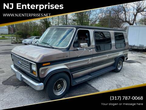 1990 Ford E-Series Cargo for sale at NJ Enterprises in Indianapolis IN