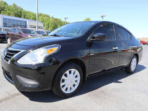 2018 Nissan Versa for sale at RUSTY WALLACE KIA OF KNOXVILLE in Knoxville TN