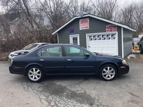 2003 Nissan Maxima for sale at KMK Motors in Latham NY