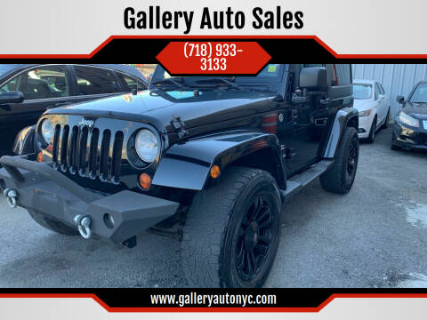 2011 Jeep Wrangler for sale at Gallery Auto Sales in Bronx NY