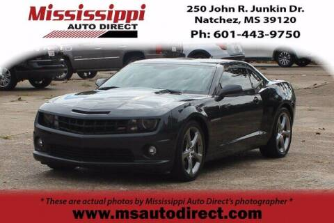 2013 Chevrolet Camaro for sale at Auto Group South - Mississippi Auto Direct in Natchez MS