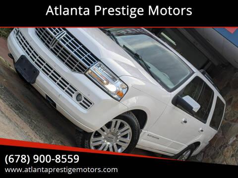 2011 Lincoln Navigator for sale at Atlanta Prestige Motors in Decatur GA