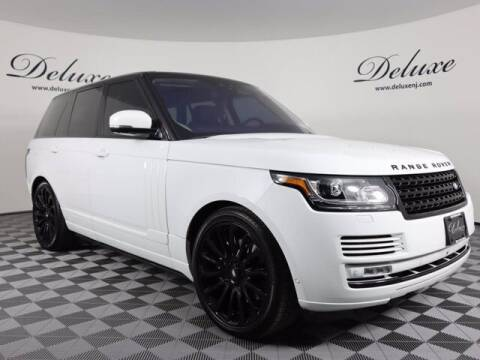 2017 Land Rover Range Rover for sale at DeluxeNJ.com in Linden NJ