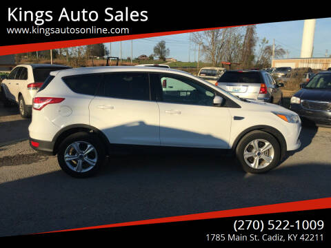 2013 Ford Escape for sale at Kings Auto Sales in Cadiz KY