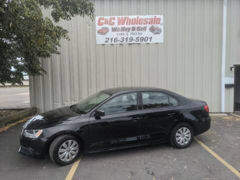 2013 Volkswagen Jetta for sale at C & C Wholesale in Cleveland OH