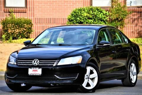 2012 Volkswagen Passat for sale at SEATTLE FINEST MOTORS in Lynnwood WA