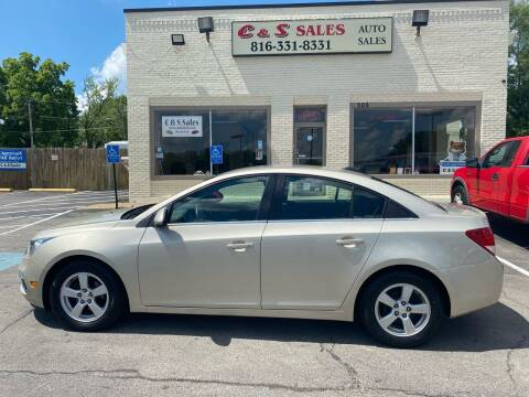 2016 Chevrolet Cruze Limited for sale at C & S SALES in Belton MO