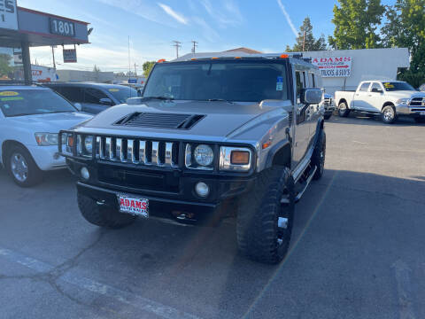 2004 HUMMER H2 for sale at Adams Auto Sales in Sacramento CA