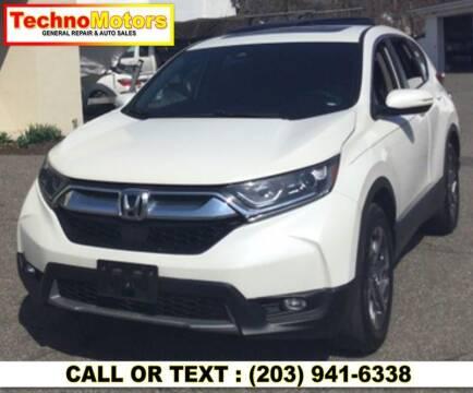 2017 Honda CR-V for sale at Techno Motors in Danbury CT