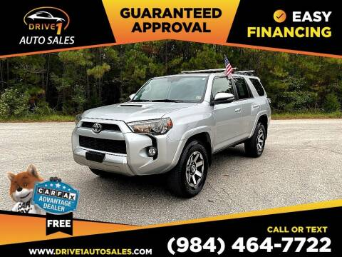 2019 Toyota 4Runner for sale at Drive 1 Auto Sales in Wake Forest NC