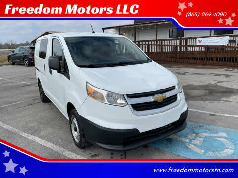 2016 Chevrolet City Express Cargo for sale at Freedom Motors LLC in Knoxville TN