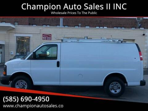 2013 Chevrolet Express Cargo for sale at Champion Auto Sales II INC in Rochester NY