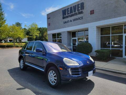 2009 Porsche Cayenne for sale at Weaver Motorsports Inc in Cary NC