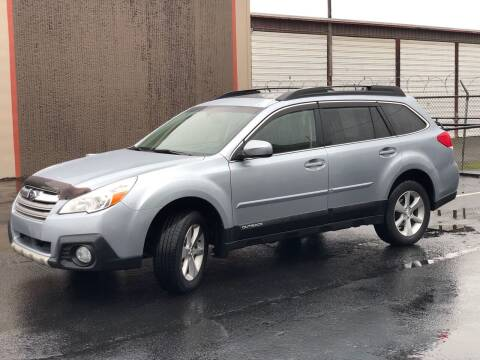 2013 Subaru Outback for sale at Exelon Auto Sales in Auburn WA