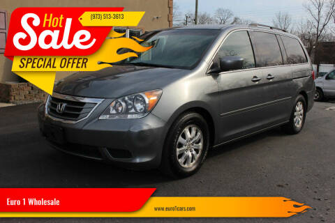 2009 Honda Odyssey for sale at Euro 1 Wholesale in Fords NJ