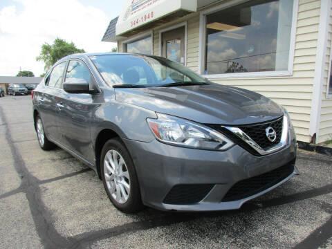 2017 Nissan Sentra for sale at U C AUTO in Urbana IL