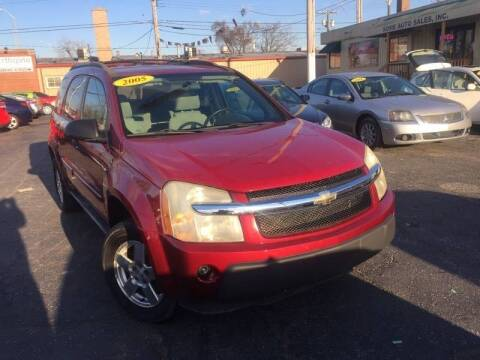 2005 Chevrolet Equinox for sale at Some Auto Sales in Hammond IN