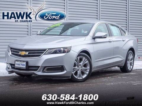 2014 Chevrolet Impala for sale at Hawk Ford of St. Charles in St Charles IL