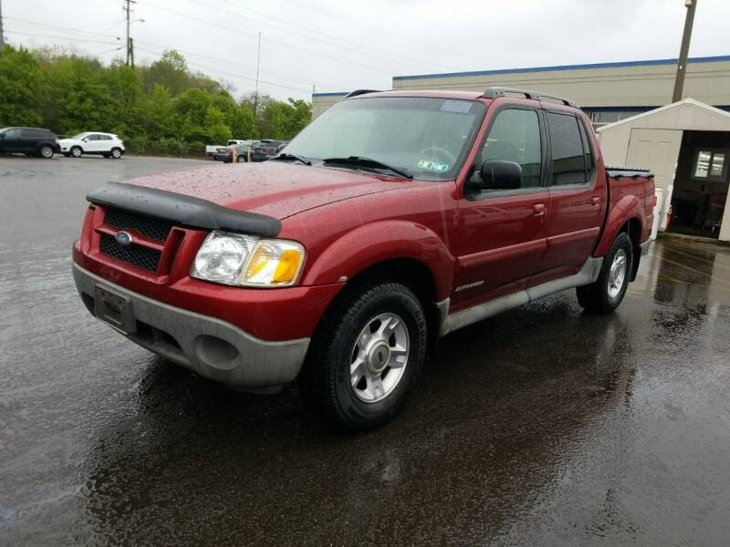 2001 Ford Explorer Sport Trac for sale at Kansas Car Finder in Valley Falls KS