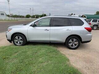 2019 Nissan Pathfinder for sale at J & S Auto in Downs KS