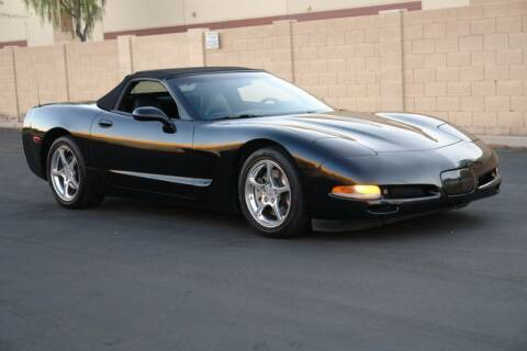 2001 Chevrolet Corvette for sale at Arizona Classic Car Sales in Phoenix AZ