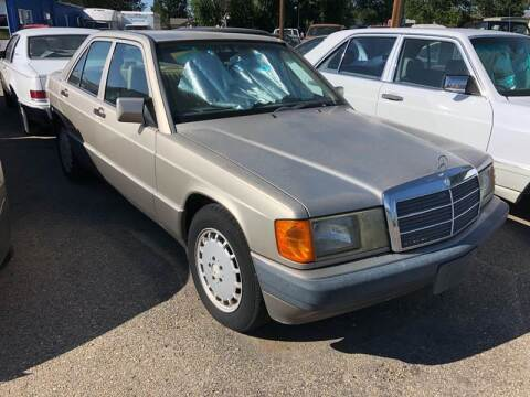1993 Mercedes-Benz 190-Class for sale at AFFORDABLY PRICED CARS LLC in Mountain Home ID