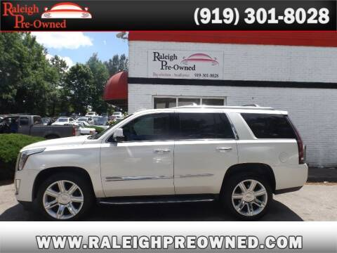 2015 Cadillac Escalade for sale at Raleigh Pre-Owned in Raleigh NC