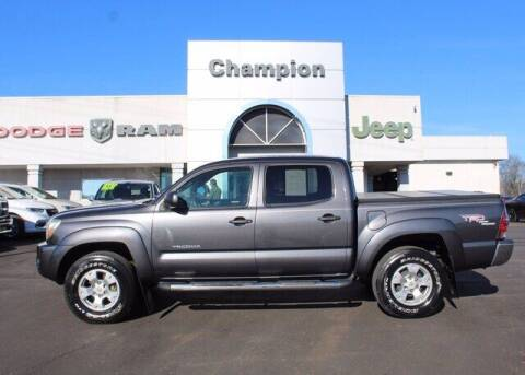 2011 Toyota Tacoma for sale at Champion Chevrolet in Athens AL