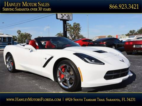 2015 Chevrolet Corvette for sale at Hawley Motor Sales in Sarasota FL