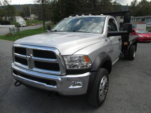 2015 RAM Ram Chassis 5500 for sale at WORKMAN AUTO INC in Pleasant Gap PA