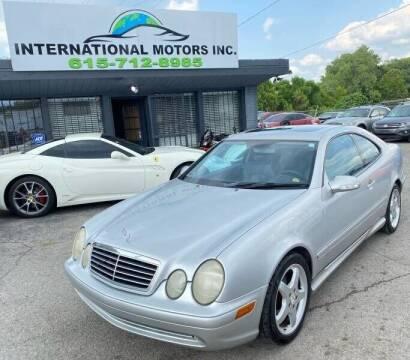 2002 Mercedes-Benz CLK for sale at International Motors & Service INC in Nashville TN