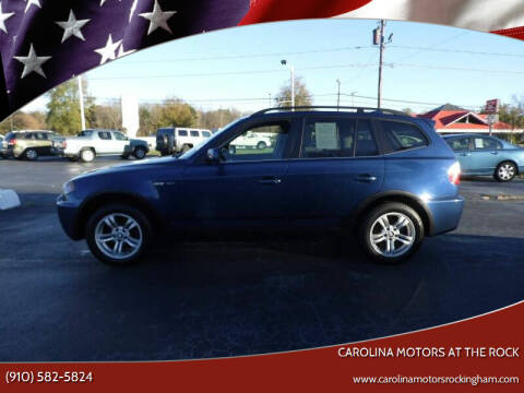 2006 BMW X3 for sale at Carolina Motors at the Rock - Carolina Motors-Thomasville in Thomasville NC