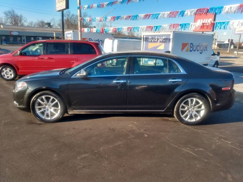 2012 Chevrolet Malibu for sale at Auto Pro Inc in Fort Wayne IN
