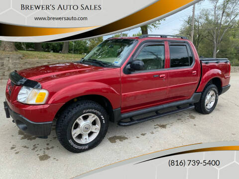 2004 Ford Explorer Sport Trac for sale at Brewer's Auto Sales in Greenwood MO