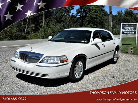 2006 Lincoln Town Car for sale at THOMPSON FAMILY MOTORS in Senecaville OH